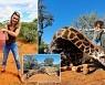희귀 기린 '심장' 손에 들고 기념 촬영..남아공 트로피 사냥꾼 논란