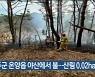 울주군 온양읍 야산에서 불..산림 0.02ha 소실