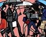 [홍소민의 슬기로운 예술소비] 줄리안 오피가 사색하는 뇌력 '거리를 걷는 사람들'