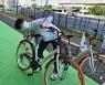 [올림픽]한국선수단, 재일본대한체육회서 자전거 기증