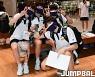 [JB포토] U19 여자농구대표팀 '좋은 성적 거두고 올께요'