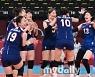 [MD포토] 여자배구 '4강진출! 세계4위 터키 상대로 이겼다'