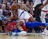 APTOPIX 76ers Knicks Basketball