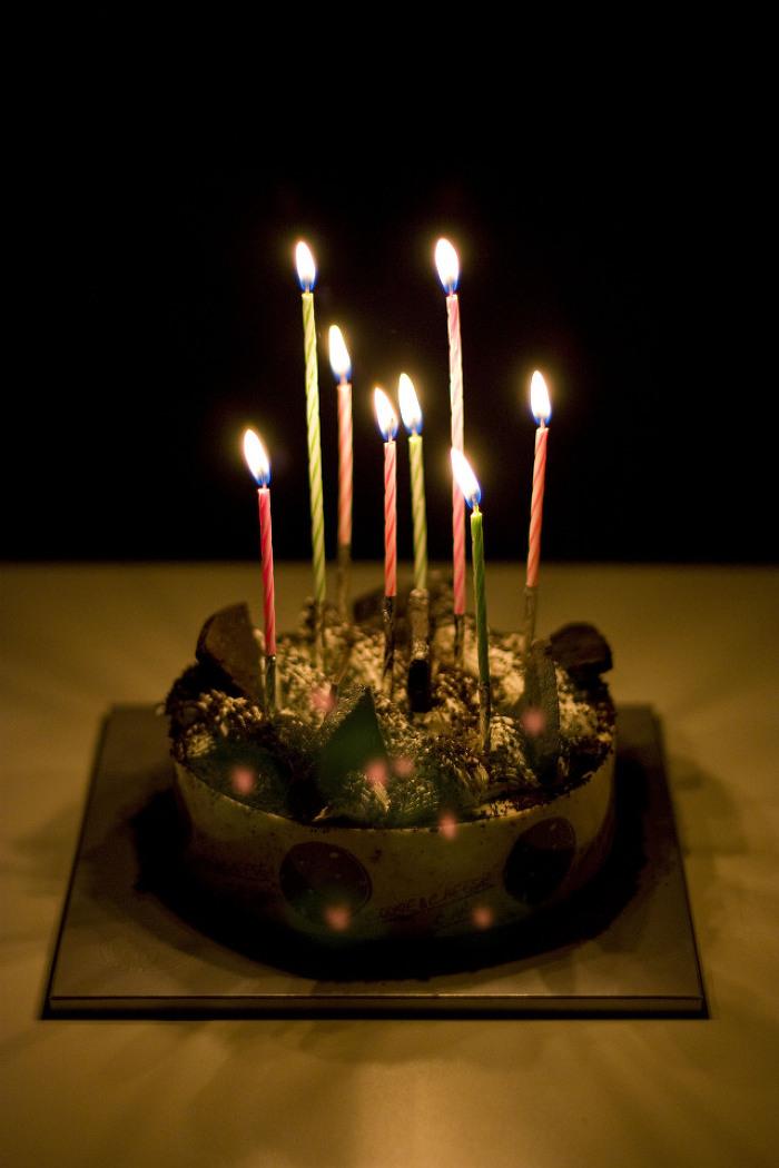 생일케이크..