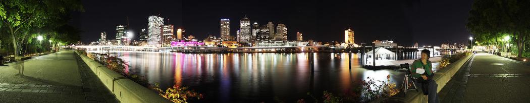 # Brisbane Riverside - 파노라마