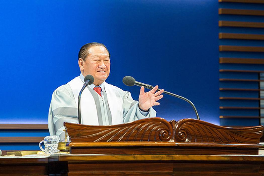 평강제일교회 원로목사 박윤식 목사님