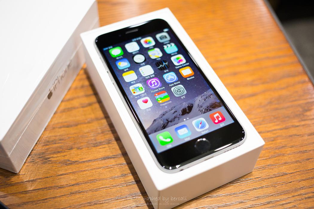 아이폰6 스페이스그레이 64기가 개봉기!