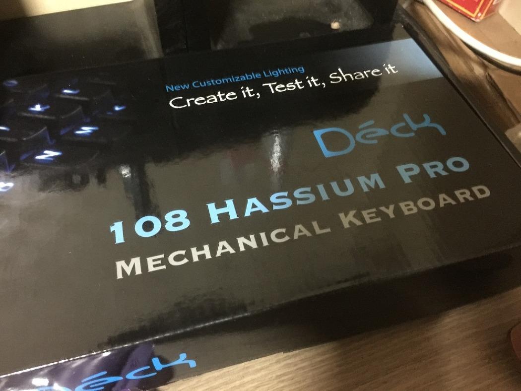기계식 키보드 Deck Hassium Pro 108 [덱 헤슘 프로 108키]