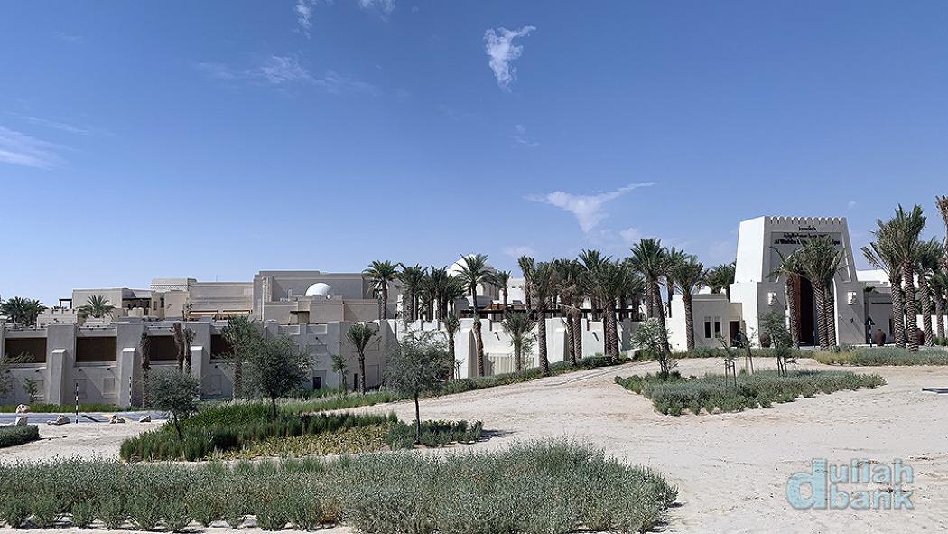 [아부다비] 아부다비 근교에 자리잡은 아담한 사막 리조트, 알와쓰바 데저트 리조트
