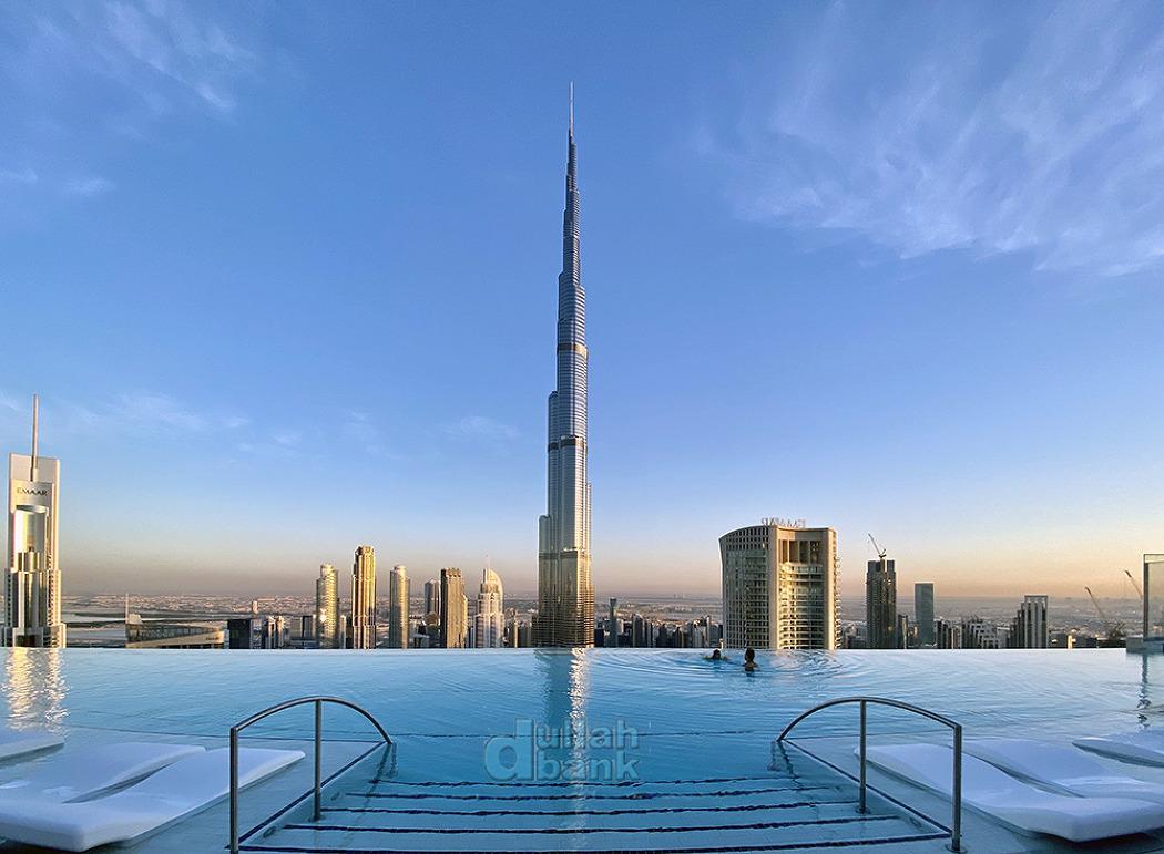[두바이] 다운타운 두바이의 환상적인 풍경을 감상할 수 있는 어드레스 스카이 뷰!