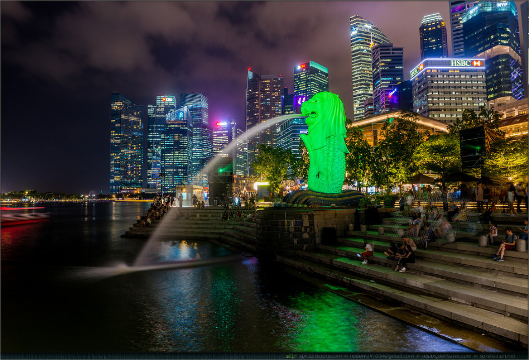 싱가포르 - 멀라이언 파크