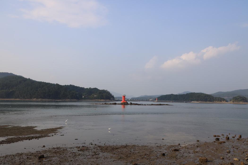[남해]전도마을, 남해 지족해협에서 만나는 전도갯벌체험장