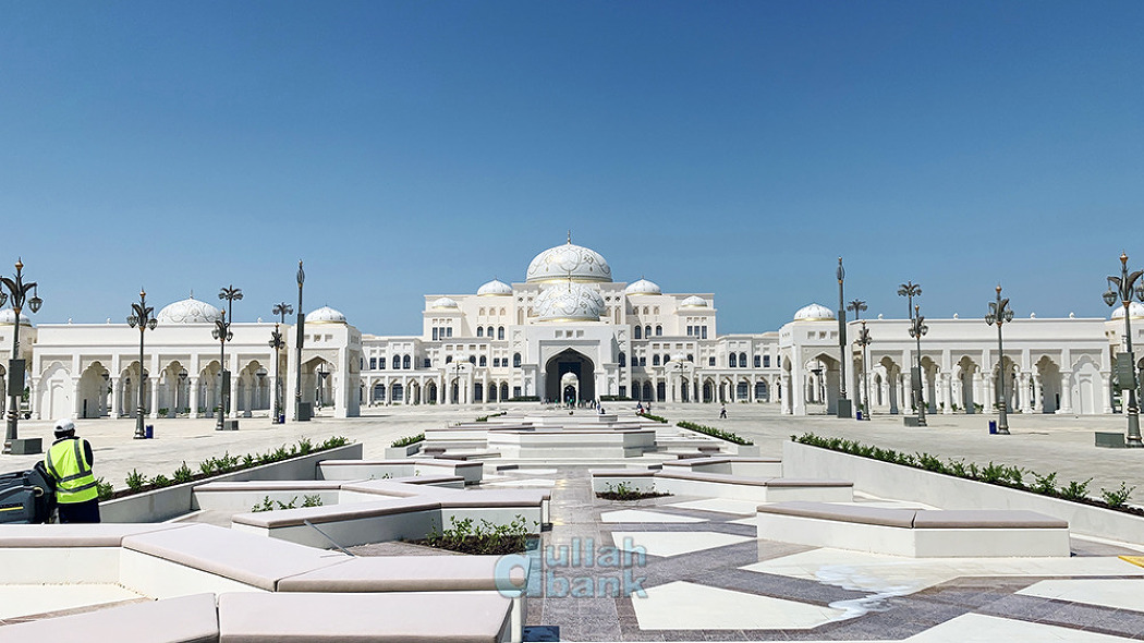 [아부다비] 까스르 알와딴, 럭셔리함과 극한의 좌우대칭을 보여주는 UAE 대통령궁 방문기