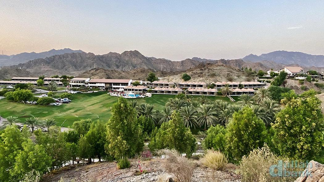 [두바이] 하자르 산맥 속에 둘러쌓인 두바이 유일의 산악 리조트, JA 핫타 포트 호텔