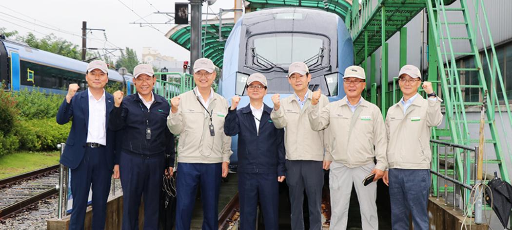2020년 도입되는 차세대 고속열차! 출고식을 앞둔 EMU-250