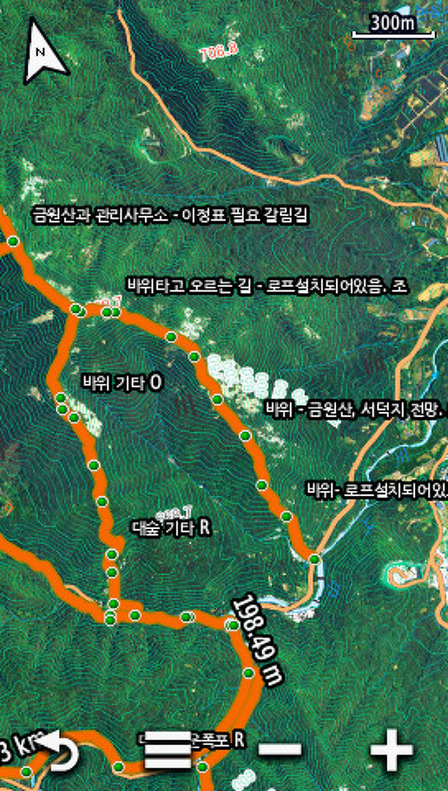 GNSS 대동여지도 v2.0(GPSr 전국등산로 지도..