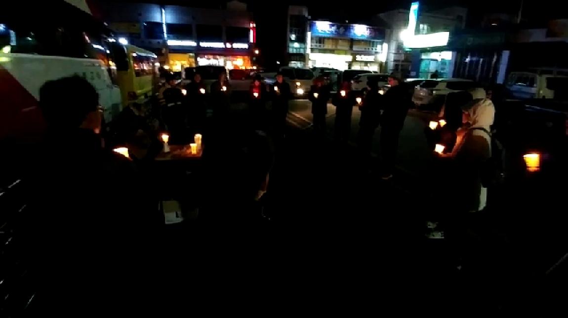 [영상] 박근혜 퇴진 촉구 임실 촛불집회 현장