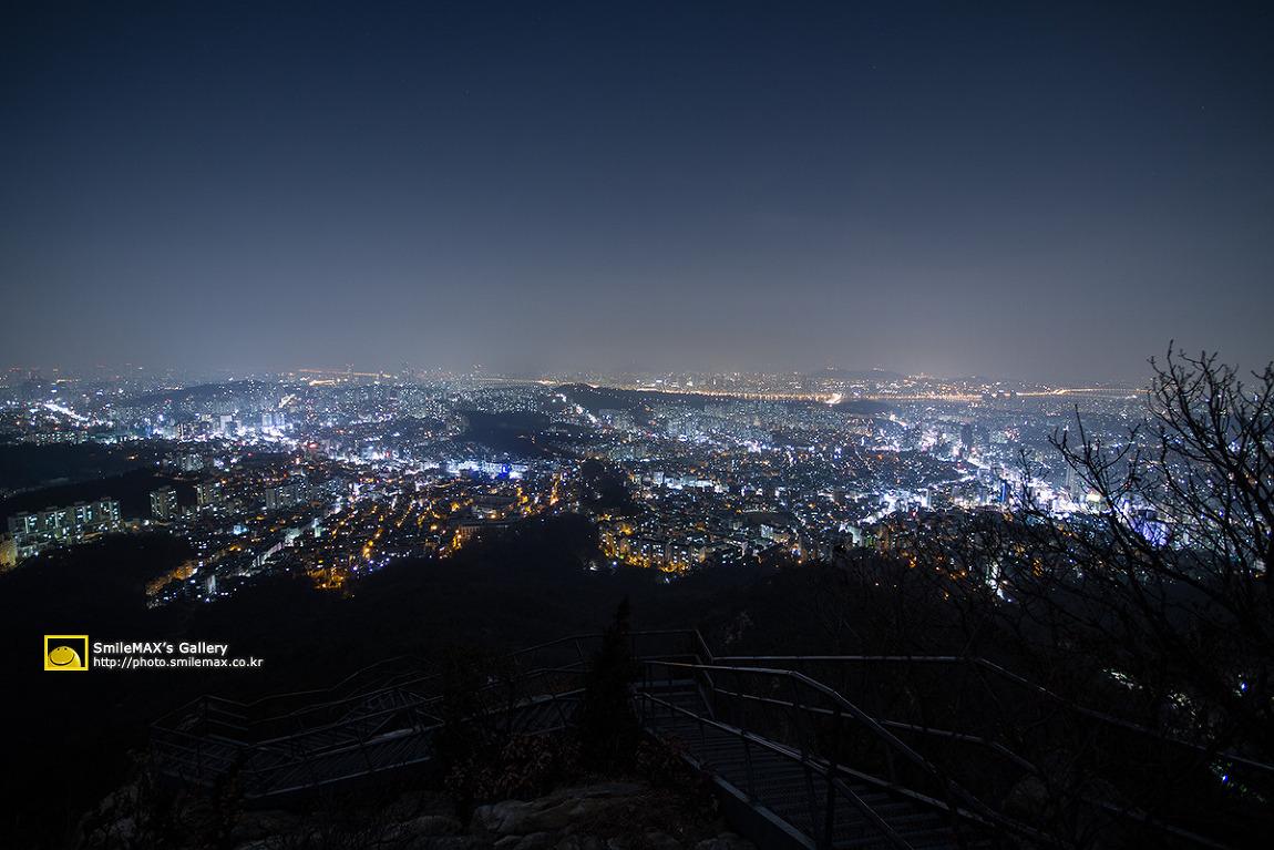 쌍둥이자리 유성우 대신 서울 시내야경 그리고..