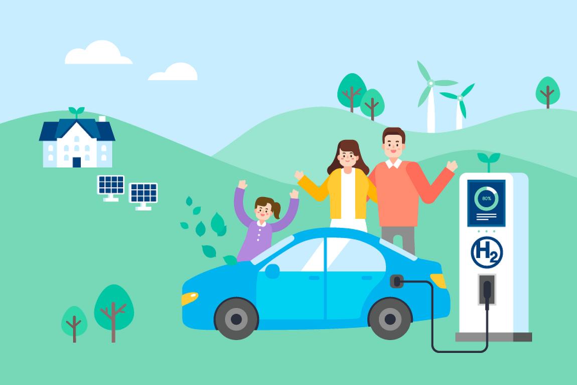 친환경 자동차의 현재와 미래, 수소연료전지차