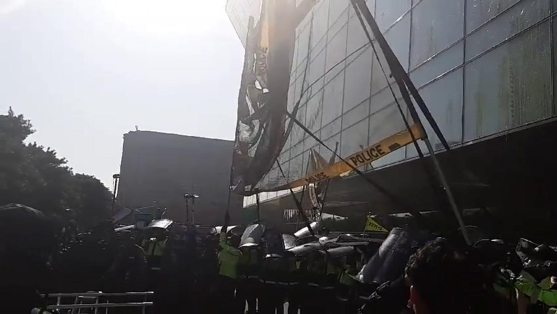 [영상] '메가톤급 조선사 탄생, 대정부 투쟁으로 이어지나