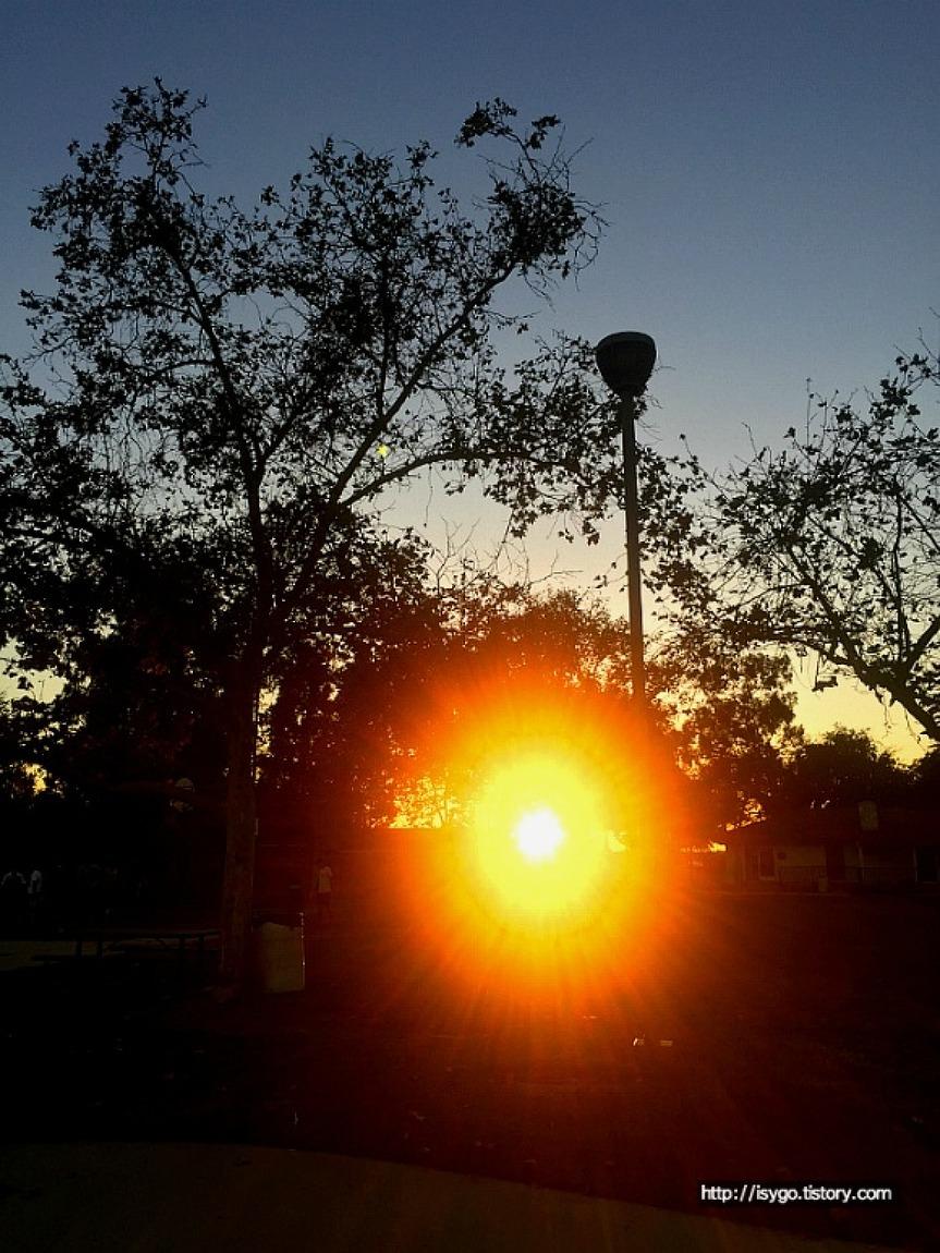 sun, going home
