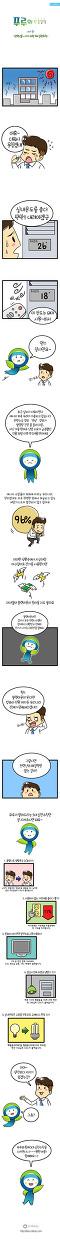<전력난을 이기기 위한 5대 실천수칙> 푸루의 환경상식 - 한국환경공단 환경웹툰