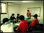 2012/10/9) 청소년 사랑손 예절봉사대 교육후 사랑마루요양원 봉사활동
