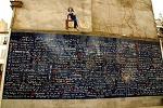 사랑의벽 Le mur des je t'aime - 몽마르뜨의 숨은 명소