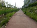 안산 신길천변 자전거도로