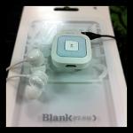 이어폰을 사용하는 블루투스 헤드셋, Blank BT-S10
