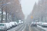 눈오는 거리...