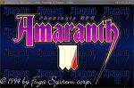 [hAYan_S]「아마란스 3 : 판타지 롤플레잉 ( Amaranth Ⅲ : Phantasie RPG )」- WinXP - 단순설치 - 한글판 - DOS [다운, 다운로드, 다운받기]