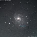 M101에 나타난 초신성 (SN 2011FE)