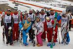 2009 제 25회 오투 리조트배 전국 스키 기술선수권 대회 시상식