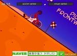 [플래시게임 싸이클로매니악]플래시게임 싸이클로매니악 자전거 레이스 중독성게임