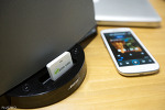 """애플 아이폰 전용 독 스피커를 블루투스 무선 스피커로 만들어 주는  뮤직리시버 """"뮤직링크 ML-D100"""""""