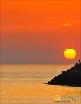 태양을 낚은 사나이~(꽃지해수욕장 일몰)