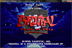 [hAYan_S]「브루탈 : 분노의 발 ( BruTal : Paws of Fury )」- WinXP - 단순설치 - 한글판 - DOS [다운, 다운로드, 다운받기]