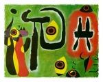 붉은 태양이 거미를 문다 | 후안 미로(Joan Miro, 1893-1983)