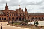 스페인에서 가장 아름다운 광장...세비야 스페인 광장
