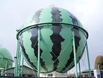깜찍한 일본의 가스탱크