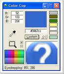 ColorCop : 스포이드로 컬러코드를 알아내기