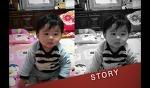 둘째 첫 생일 성장 동영상