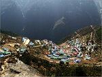 山中 마을 `남체바자르(Namche Bazar)`