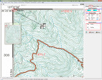 OziExplorer Map Calibration 및 우리나라의 1:25,000 지형도
