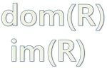 정의역 (domain)과 상 (image)