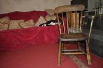 메리의 오랜 의자
