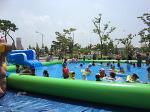 청주 문암생태공원 수영장 나들이