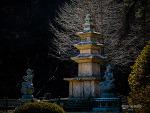 경북 영덕 유금사 삼층석탑 (보물 제 674호)