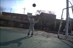 신갈중학교에서 축구하기 (아기)